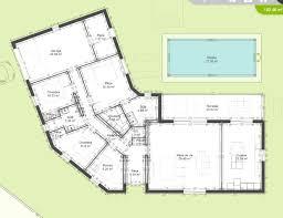 plan de maison en l avec 4 chambres avis plan maison plain pied en v 150m 158 messages con plan de