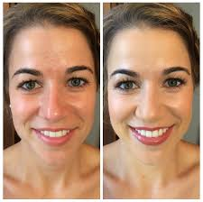 airbrush makeup for wedding before after toledo airbrush makeup artists makeup by