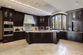 Brown Cabinets Kitchen Kitchen Colors With Dark Wood Cabinets Outofhome