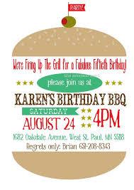 Backyard Birthday Party Invitations 40 Best Bbq Birthday Invitations Images On Pinterest Birthday