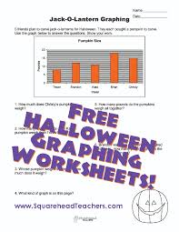 halloween pumpkin graphing worksheet squarehead teachers