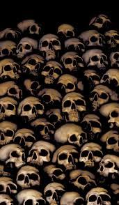 Halloween Skull Decorations Halloween Single Poster Skulls Wowindow Posters
