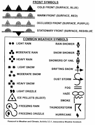 hands on unit for weather montessori pinterest weather map