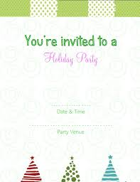 free christmas party invitation templates printable musicalchairs us