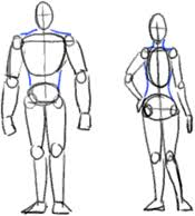figure drawing step by step lessons u0026 how to draw people and the