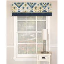rlf home alessandro seamist banded cotton valance alessandro