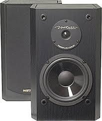 bic america dv62si bookshelf speakers pair black