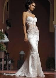 luxury mermaid wedding dress the figure hugging column dress is a