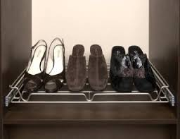 sidelines pull out closet organizer shoe rack closet organizer