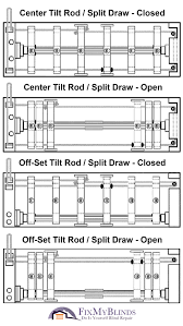 Louver Blinds Repair Vertical Restring Diagrams