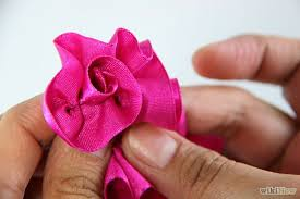 ribbon for hair how make hair bow out ribbon medium hair styles ideas 32892