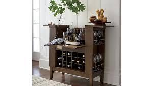 Bar Hutch Cabinet Parker Spirits Bourbon Cabinet Crate And Barrel