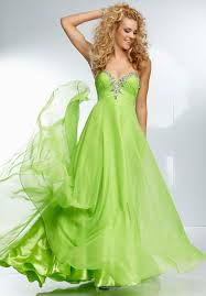 buy tailor made a line sweetheart chiffon beaded lime green long