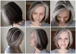 short styles for grey hair streaked best 25 short hair older women ideas on pinterest hair styles