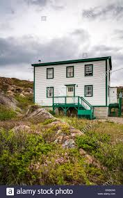 a salt box house at fogo fogo island newfoundland and labrador