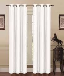 Blackout Curtain Panels With Grommets J U0026v Textiles Solid Blackout Grommet Thermal Curtain Panels