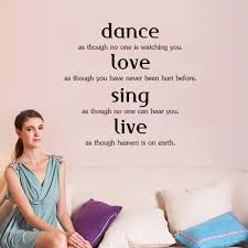 online cheap english proverbs dance love sing live living room see larger image