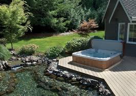 Backyard Spa Parts Backyard Designs With Spa Pool Design Ideas