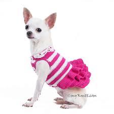 Dog Wedding Dress All Products Pink Dog Dress Myknitt