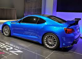 subaru brz custom body kit subaru brz concept sti live photos from la auto show and new