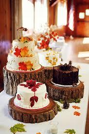 autumnal wedding cakes wedding ideas by colour chwv