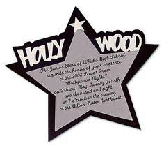 personalized hollywood star invitations oriental trading movie