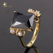 popular cheap gold rings for men buy cheap copper alloy gold color silver color plated white purple black cz