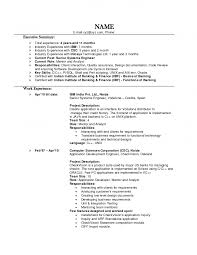 Experience In Resume Example by Resume Examples For Experienced Professionals