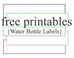 free label template for word printable label template
