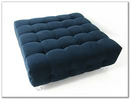 awesome navy blue ottoman abson living marcus navy blue nailhead