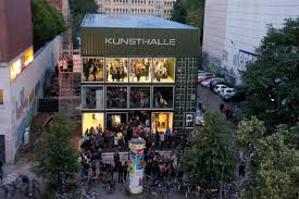 shipping container homes platoon kunsthalle berlin germany