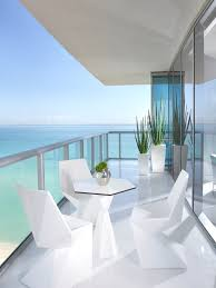 Modern Patio Furniture Miami Porch White Furniture Patios And Ocean
