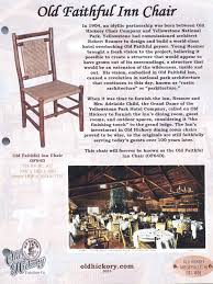 old faithful inn dining chairs of