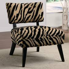 furniture 8 simple design zebra accent chairs in high back