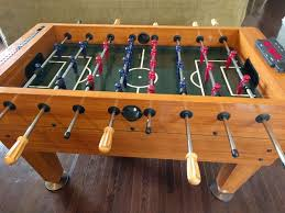 new harvard foosball table harvard foosball table with electronic scoring excellent condition