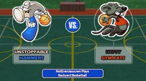 game 11 of backyard basketball unstoppable hammers vs hefty gym