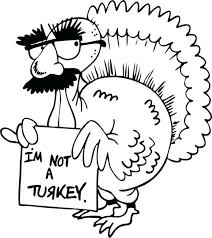 thanksgiving turkey coloring pages free for preschoolers without