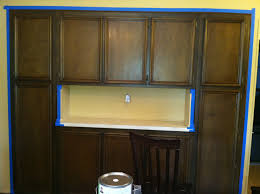 Kitchen Cabinet Glazing Before And Afters U2013 Clients Paint And Glaze Their Kitchen Cabinets