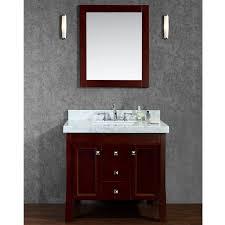 Bathroom Vanity With Offset Sink Ariel Cambridge 37
