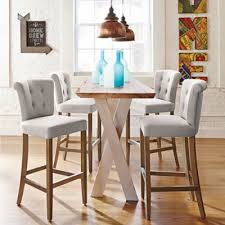 I Just Got These Tristan Counter Stools From Grandin Roadthey - Elegant dining table with bar stools residence