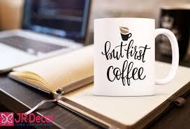 coffee mug printed on