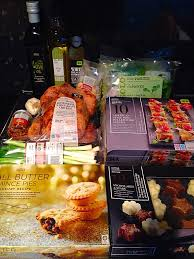 christmas dinner order online marks and spencer christmas food review hathaway