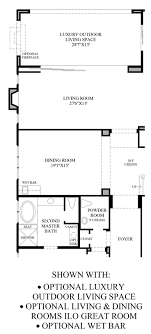 floor plans with great rooms ashbury at alamo creek the baywood ca home design