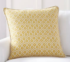 Pottery Barn Decorative Pillows August Jacquard Pillow Cover Pottery Barn