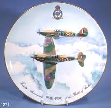 40th anniversary plate coalport battle of britain 40th anniversary plate sold