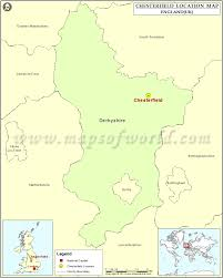 Cheshire England Map by Where Is Chesterfield Location Of Chesterfield In England Map