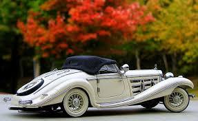 mercedes 500k 1 24 1936 mercedes 500k special roadster top up ivory