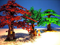 wondered why lego trees are so small compared to the