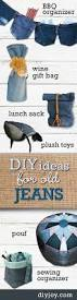 home decorating sewing projects 110 best cute things with old jeans images on pinterest diy