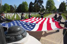 Memorial Day American Flag Memorial Day 2015 At Somme American Cemetery American Battle